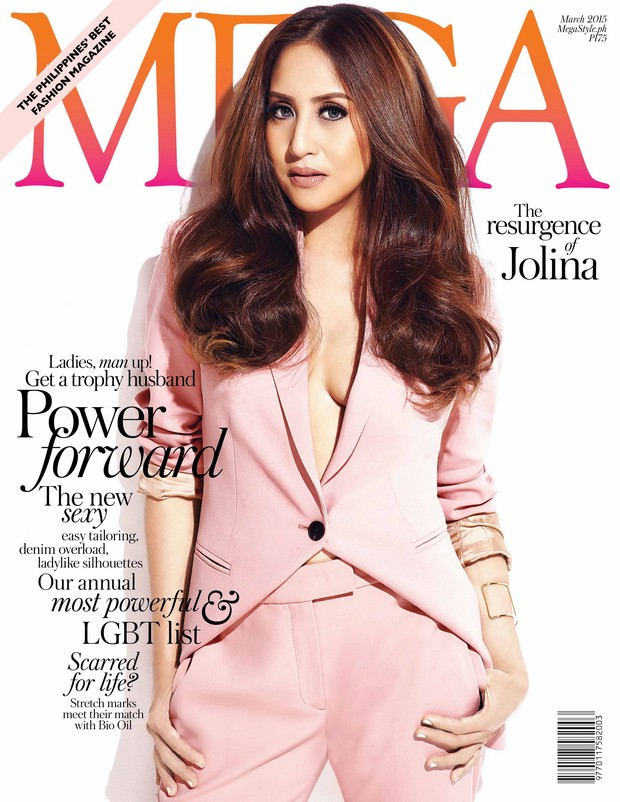Jolina Magdangal shows off her sexy side in Mega Magazine's March Issue
