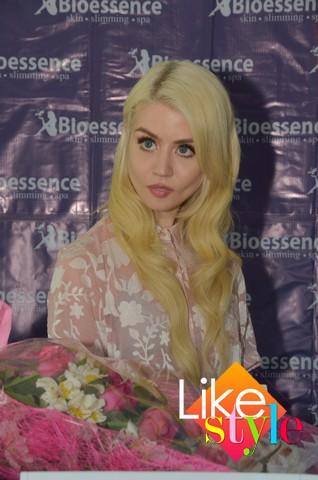 International model Allison Harvard is Bioessence's newest endorser