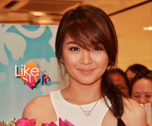 Kathryn Bernardo expresses herself with bags