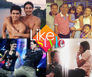 Honoring fathers: How stars celebrated Father's Day