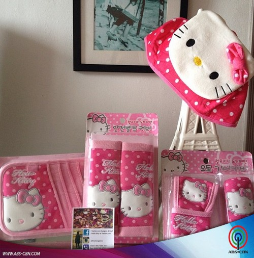 Andrea and her Hello Kitty Collection