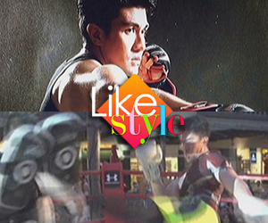 How does Luis Manzano stay fit?